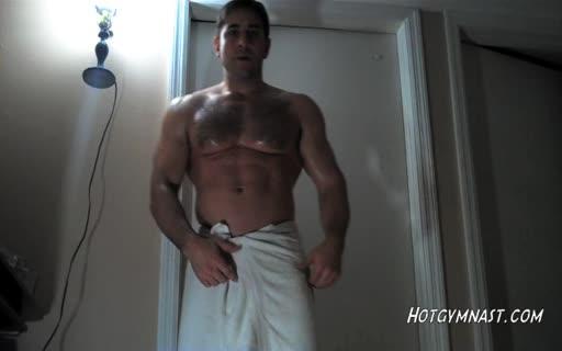 HotGymnast White Locker Room Towel