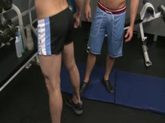 Chris Rockway and Reese Rideout gym sex