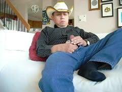 cowboy masturbation