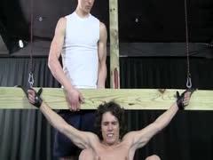 Beautiful boy bondage
