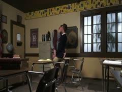 twinks BB on school desk