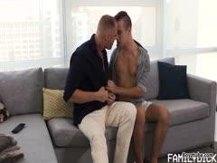 Stepdad and Boy