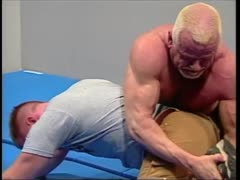 Two Wrestlers Stripped and Fucked