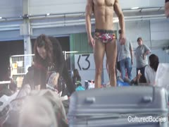 Bodybuilders backstage Top de C