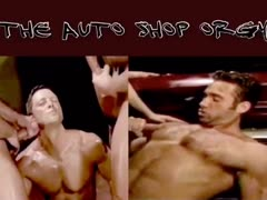 The Auto Shop Orgy