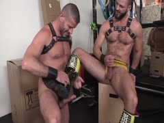 Clay And Jake Bareback Bears