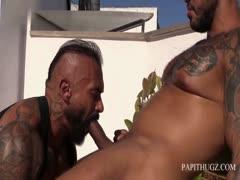 Raw RoofTop Summer Fuck with Viktor Rom & Santi Noguera