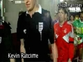 FOOTBALL PLAYER KEVIN RATCLIFFE PULLS OUT HIS DICK ON BBC